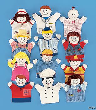 идеи за играчки за ръка за куклен театър