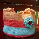 плетене от найлон, найлонови торби