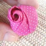 Роза от плат