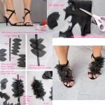 Преобразяване  или направа на обувки