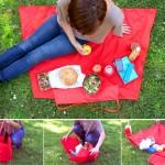 чанта – постелка за пикник