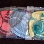 плетени дрехи за кукла Барби