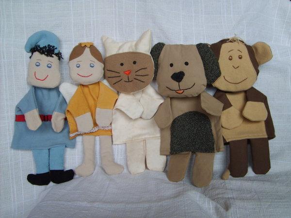 шити играчки за куклен театър