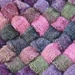Ентралак – плетене на ромбове