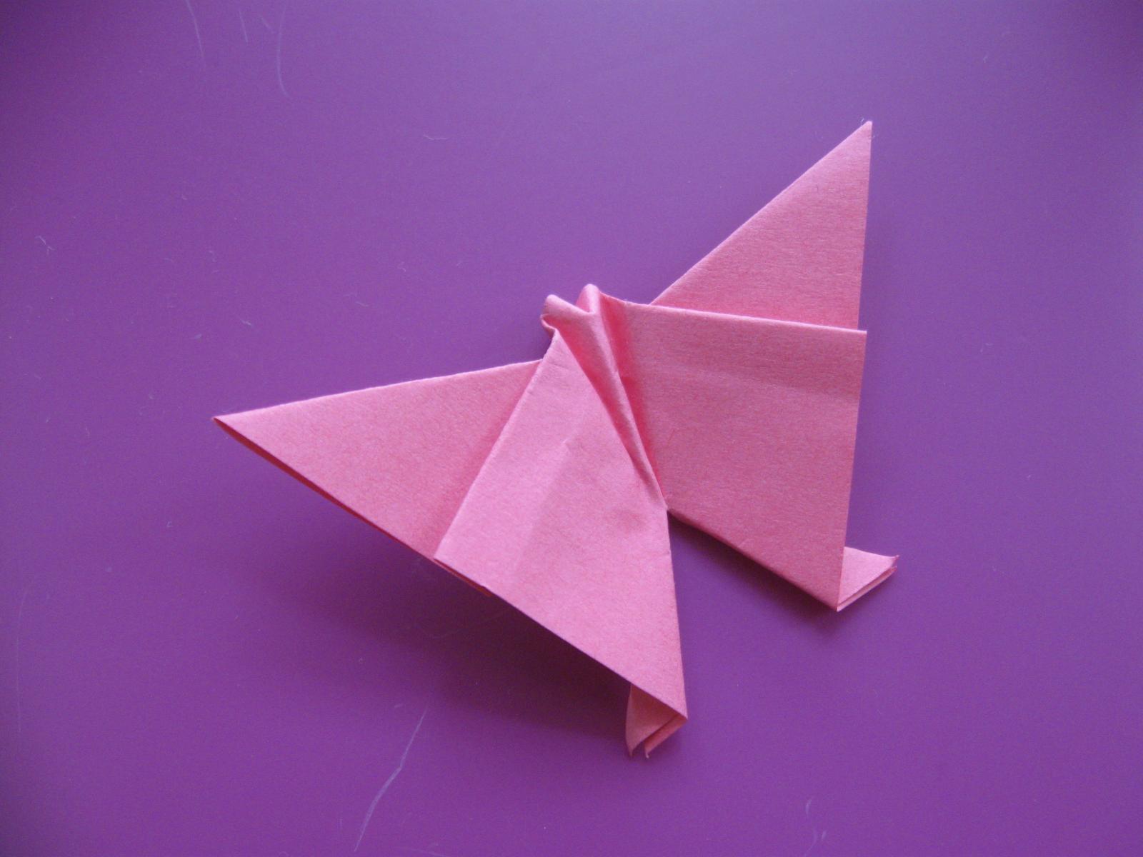пеперуда оригами
