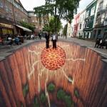 3D улични рисунки