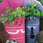 Цветя/ подправки в градината/ терасата
