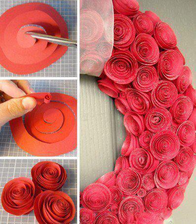 розички от хартия