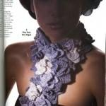 Шал на цветя на Vogue