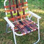 подновяване на столовете със стари колани