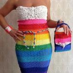 Loom-band-dress